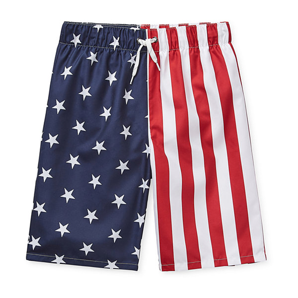 City Streets Big Boys Swim Trunks