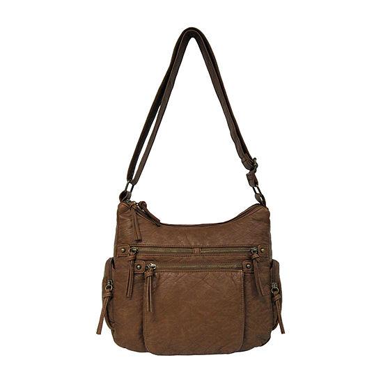 Bueno of California Washed Shoulder Bag