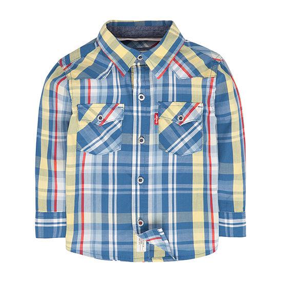 Levi's Baby Boys Long Sleeve Button-Down Shirt