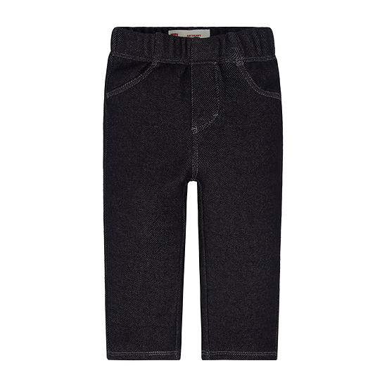 Levi's Baby Girls Mid Rise Skinny Pull-On Pants