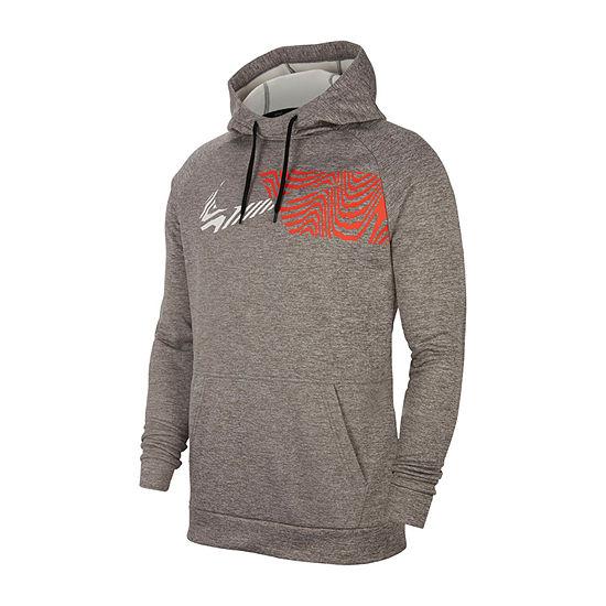 Nike Mens Long Sleeve Moisture Wicking Hoodie