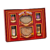Mini Vintage Movie Night Marquee Gift Set, One Size , Red
