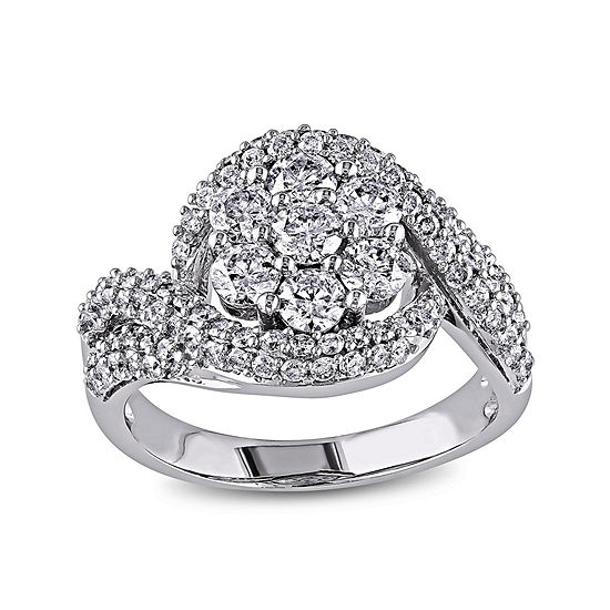 2 CT. T.W. Diamond 14K White Gold Bridal Ring