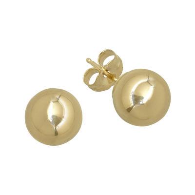Infinite Gold™ 14K Yellow Gold 4mm Ball Stud Earrings