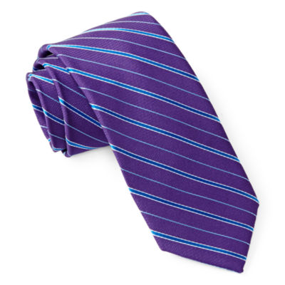 Van Heusen Striped Tie - Boys One Size