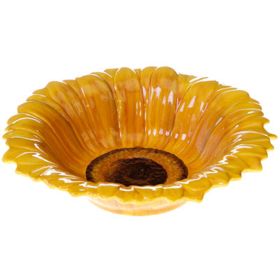 Certified International French Sunflowers Serving Bowl