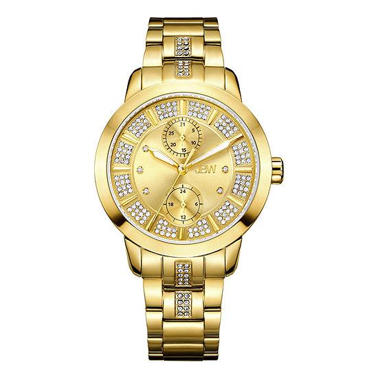 JBW Womens Gold Tone Bracelet Watch-J6341f