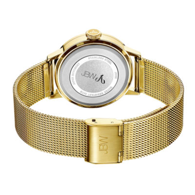 JBW Womens Gold Tone Bracelet Watch-J6339a