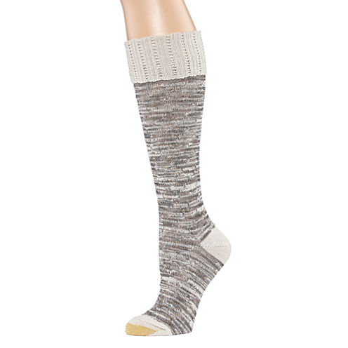 Goldtoe® Slub Lace Knee-High Socks