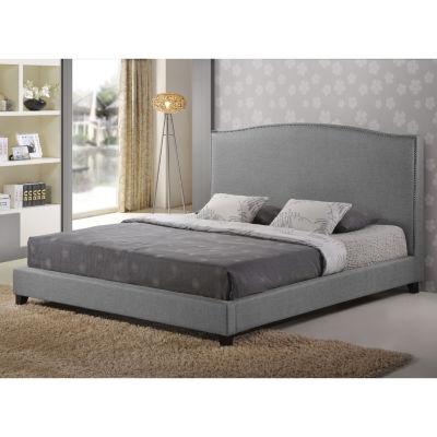 Baxton Studio Aisling Upholsterd Platform Bed