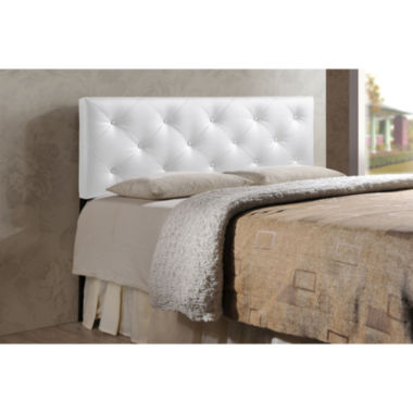 Baxton Studio Baltimore Faux-Leather Upholstered Headboard