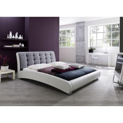 Baxton Studio Guerin Faux-Leather Upholstered Platform Bed