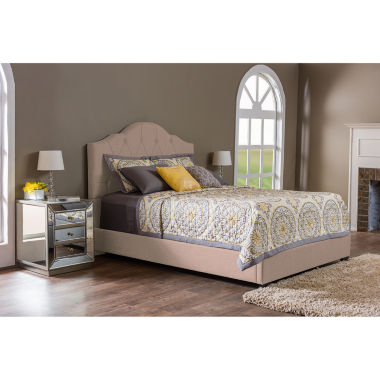 Baxton Studio Juliet Contemporary Upholstered Bed