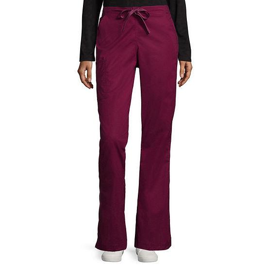 WonderWink® WonderFLEX 5308 Womens Grace Flare Leg Pant - Petite & Petite Plus