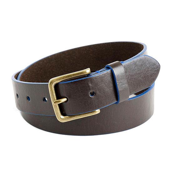 Arizona® Blue Lined Leather Belt