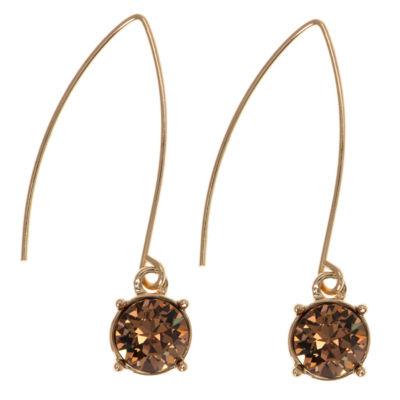 Gloria Vanderbilt Multi Color Drop Earrings