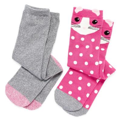 Cuddl Duds 2 Pair Knee High Socks