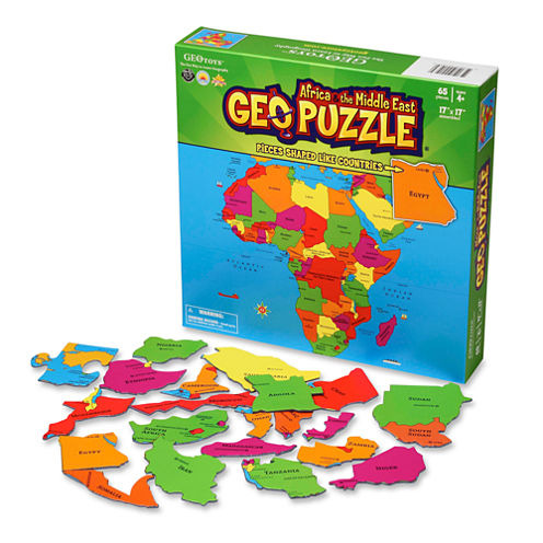 Geotoys - GeoPuzzle Africa