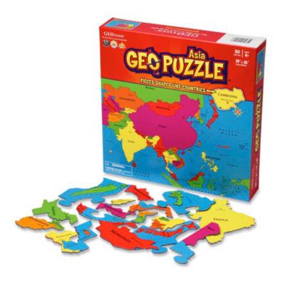 Geotoys - GeoPuzzle Asia