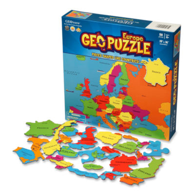 Geotoys - GeoPuzzle Europe