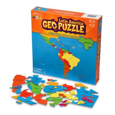Geotoys - GeoPuzzle Latin America