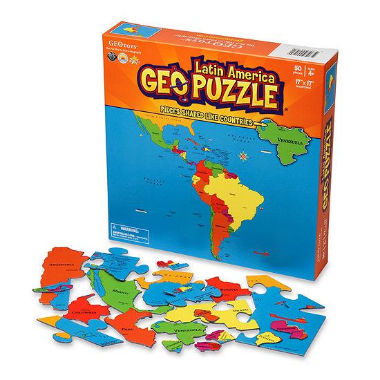 Geopuzzle Latin America