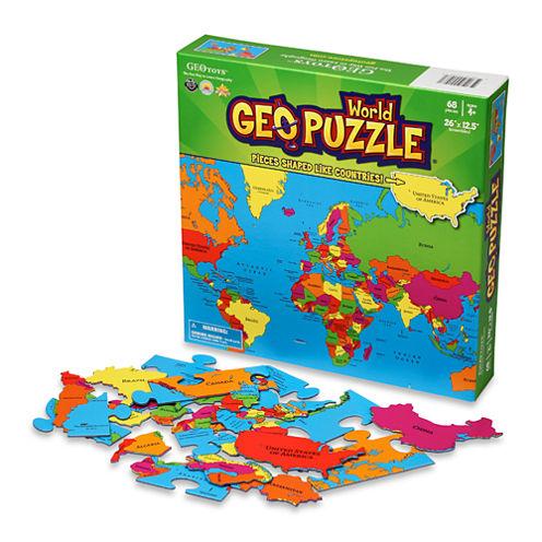 Geotoys - GeoPuzzle World