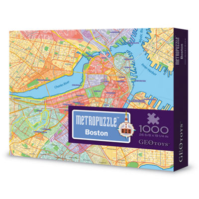 Geotoys - MetroPuzzle Boston