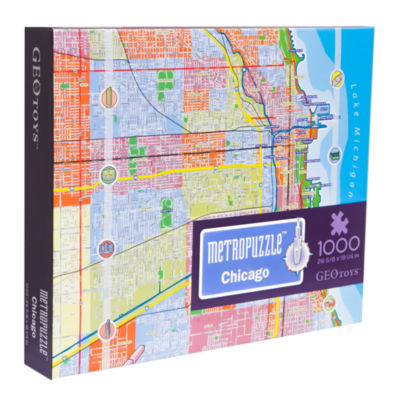 Geotoys - MetroPuzzle Chicago