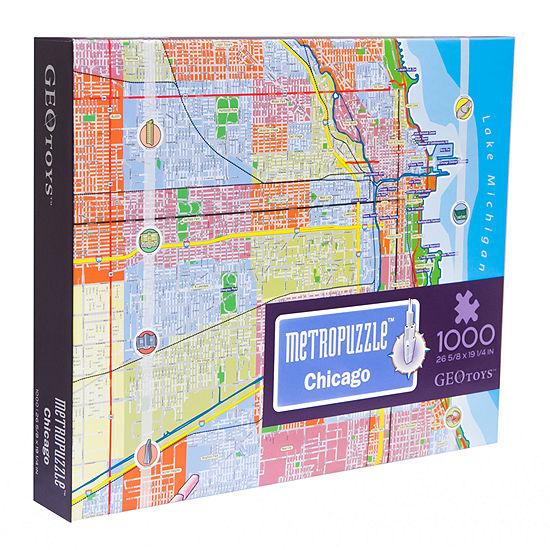 Geotoys - MetroPuzzle Chicago