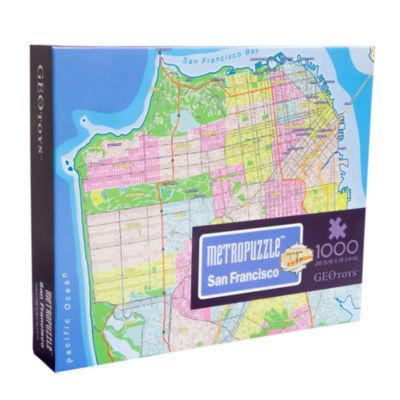 Geotoys - MetroPuzzle San Francisco