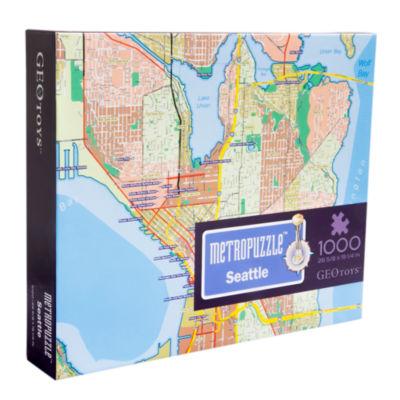Geotoys - MetroPuzzle Seattle