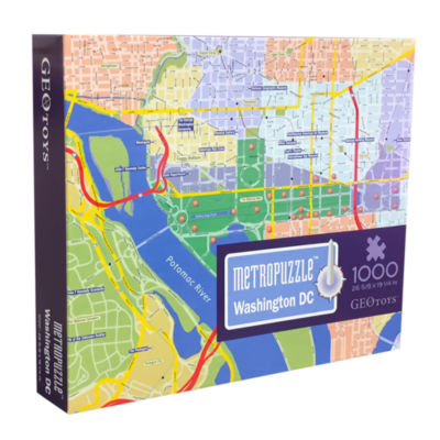 Geotoys - MetroPuzzle Washington DC
