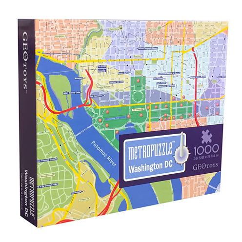 Geotoys - MetroPuzzle Washington DC