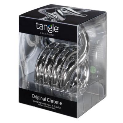 Tangle - Original Chrome Manipulative Sculpture