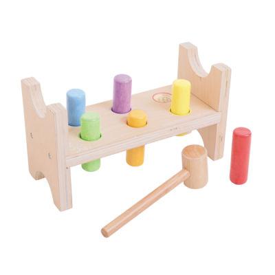 Hammer Bench 8-pc. Toy Workbench