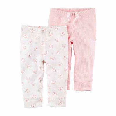 Carter's Knit Jogger Pants - Baby Girls