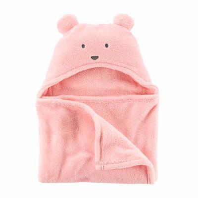 Carter's Hooded Sherpa Blanket - Girls