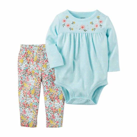 Carter's 2-pack Hearts Pant Set Baby Girls