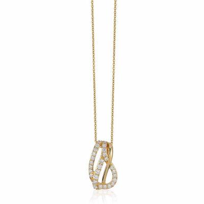 Grand Sample Sale™ by Le Vian® 1/2 CT. T.W. Vanilla Diamonds® in 14K Honey Gold™ Pendant Necklace