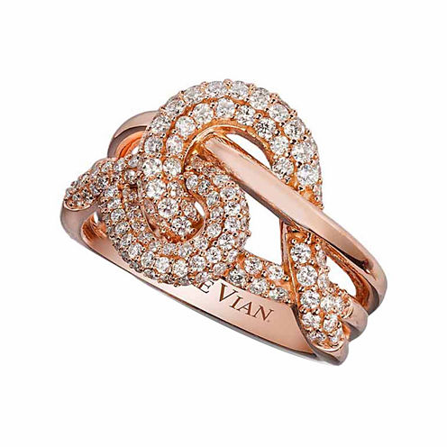 Grand Sample Sale™ by Le Vian® 7/8 CT. T.W. Vanilla Diamonds® in 14K Strawberry Gold® Ring