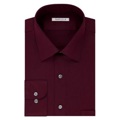 Van Heusen® No-Iron Lux Sateen Dress Long Sleeve  Shirt