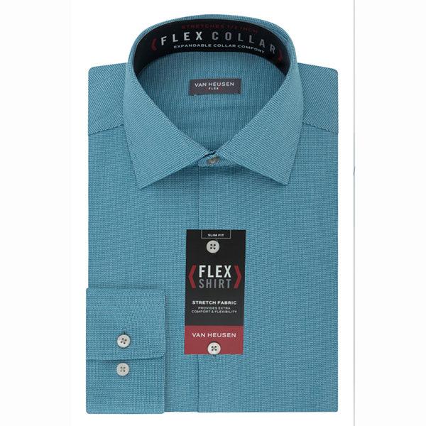Van heusen flex collar dress shirt jcpenney for Van heusen shirts flex collar