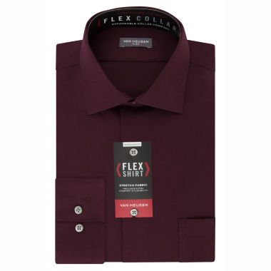 Van Heusen® Flex Collar Long Sleeve Woven Dress Shirt