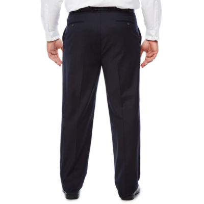 Stafford Woven Suit Pants-Big and Tall