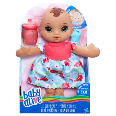 Hasbro Lil Slumbers Baby Alive Doll Jcpenney
