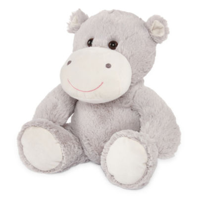Okie Dokie Hippo Stuffed Animal