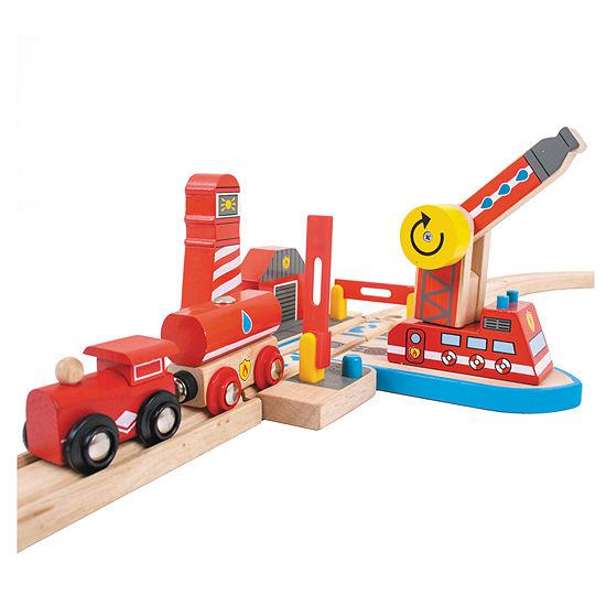 Fire Sea Rescue Wooden Train Accessory