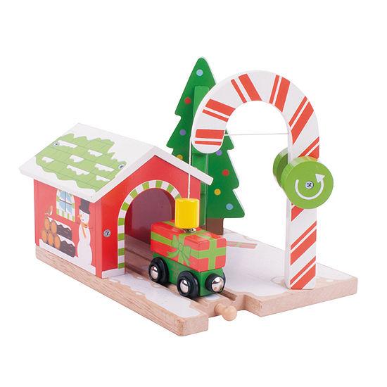 Candy Crane Wooden Train Accessory Train