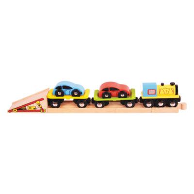 Car Loader Wooden Train Accessory Train